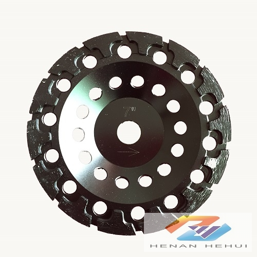 T-seg diamond cup wheel for concrete grinding