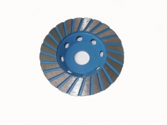 dry ring diamond cup wheel for conrete grinding