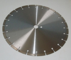 Laser welding diamond saw blade for road