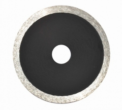 hot-pressed continuous rim diamond blade for stone
