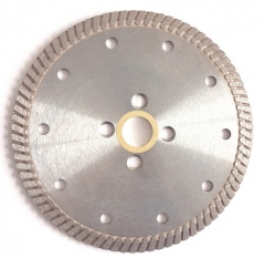 professional hot-pressed turbo blade for stone