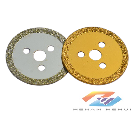 electroplating diamond cutting disc for stone carving