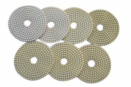 7-Step polishing pad for ceramic-wet
