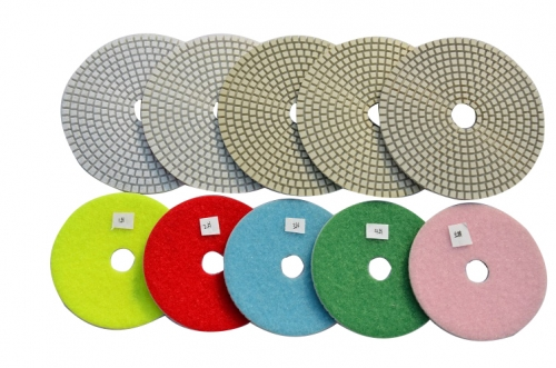 5-Step polishing pad for ceramic-dry