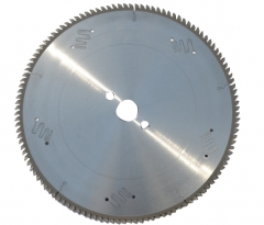 TCT circular saw blade for aluminum profile cutting