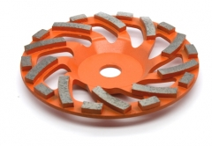diamond cup wheel for concrete floor grinding