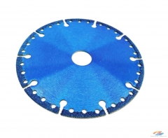 Vacuum Brazed Diamond Blade for Metal Cutting (universal purpose type)